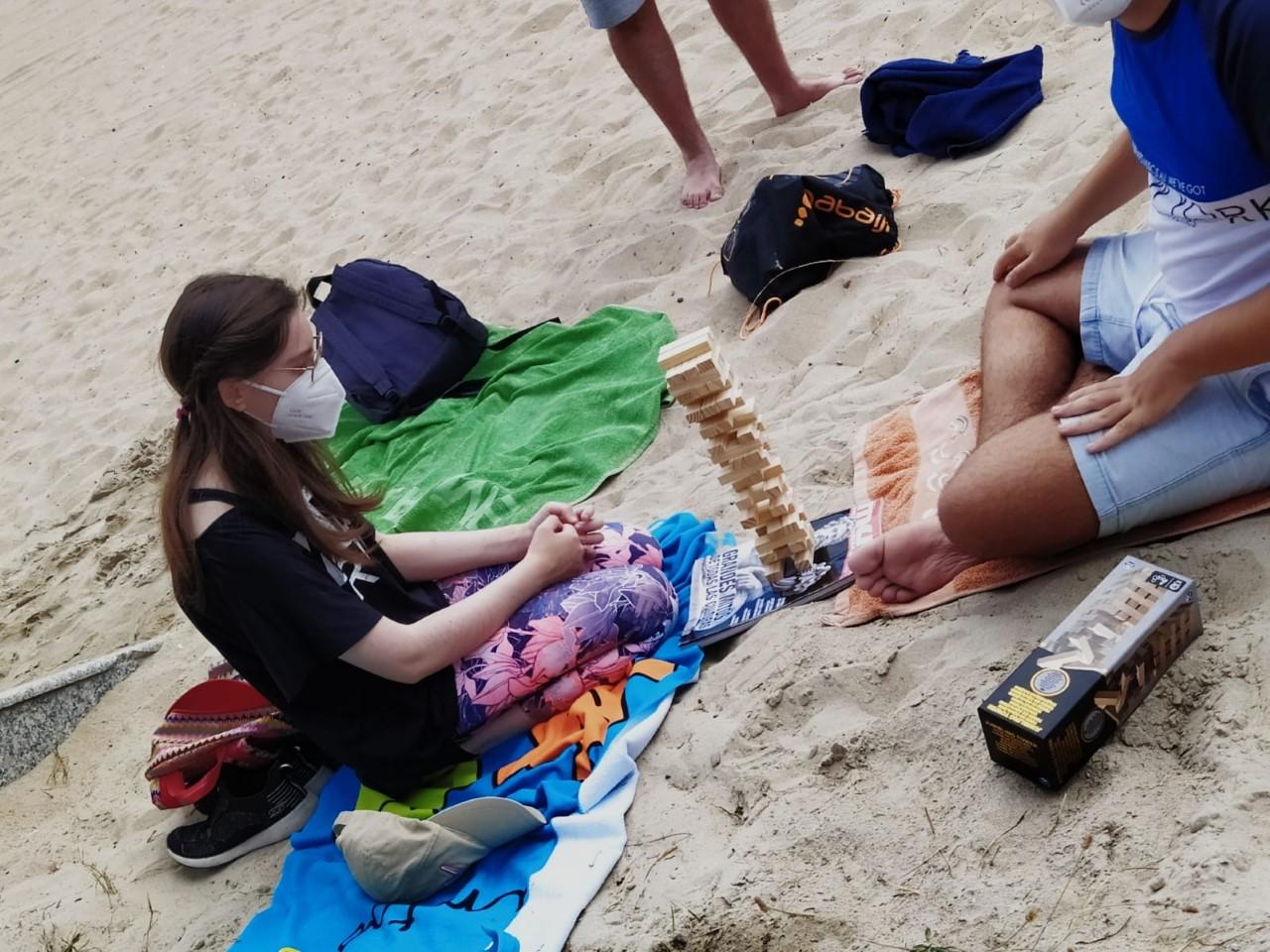 CLUB DE OCIO (jornada en la playa 3) 31-7-2020