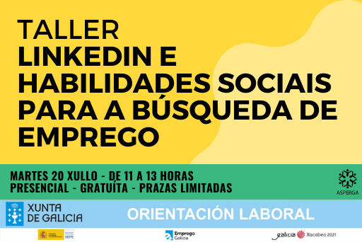 TALLER: Habilidades sociais para a búsqueda de emprego