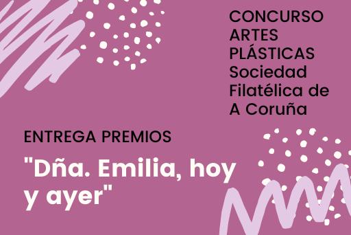 ENTREGA PREMIOS FILATELIA concurso de artes plásticas